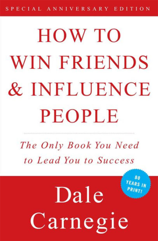Books on career development: Dale Carnegie, How to Win Friends